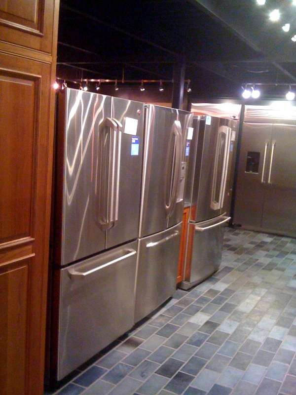 Yale Appliance Lighting Shallow Depth Refrigerators