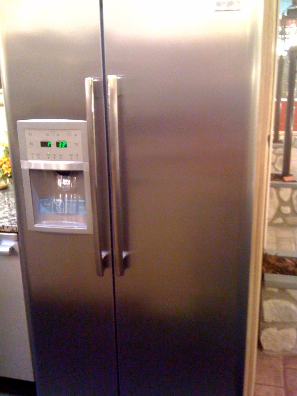 Yale Appliance Lighting Shallow Depth Refrigerators