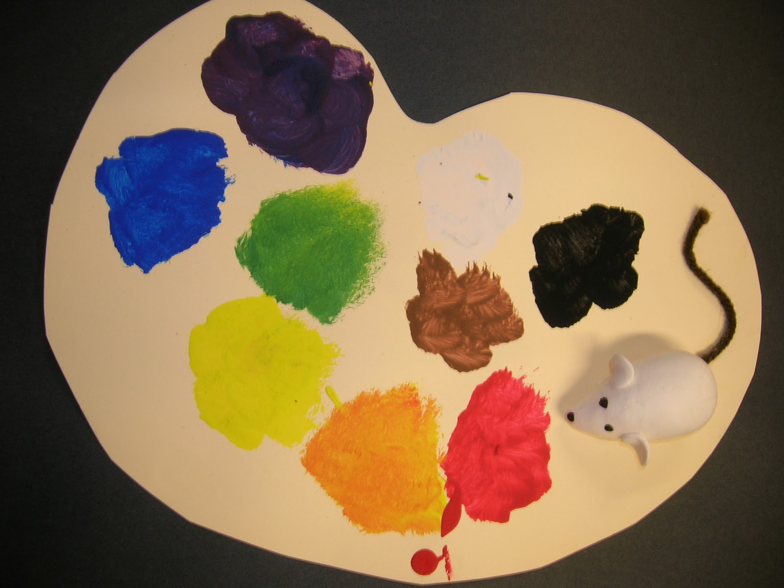 The Elementary Art Room Mouse Paint