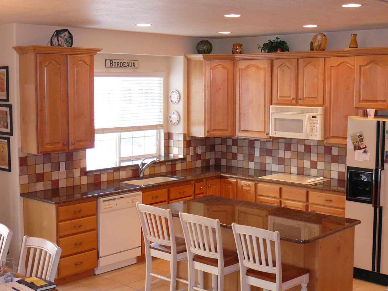 The Granite Gurus Tropic Brown Kitchen Before And After