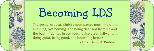 Becoming LDS