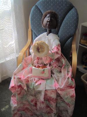 Vacuum doll custom made, Raggedy Rhondas Dolls
