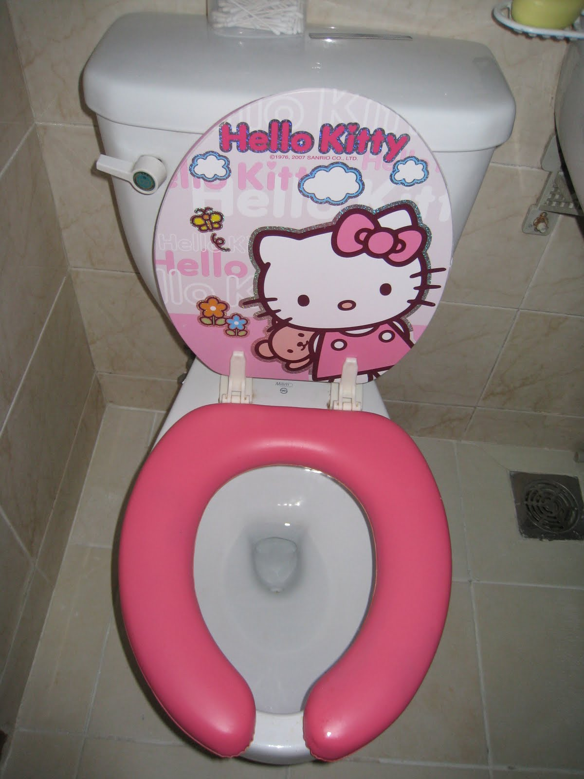 hello kitty potty chair leather seat covers the further misadventures of j bird new apartment