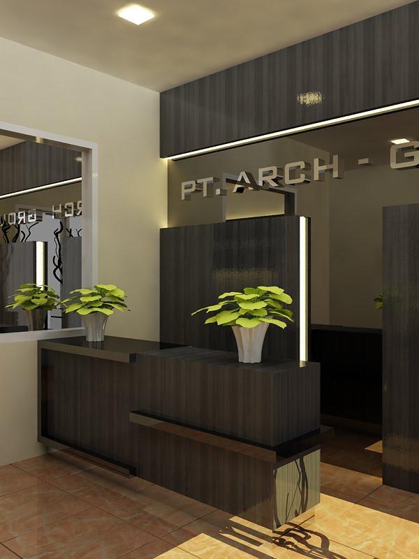 Sand_Architexture Portfolio Lobby  Receptionist  Office