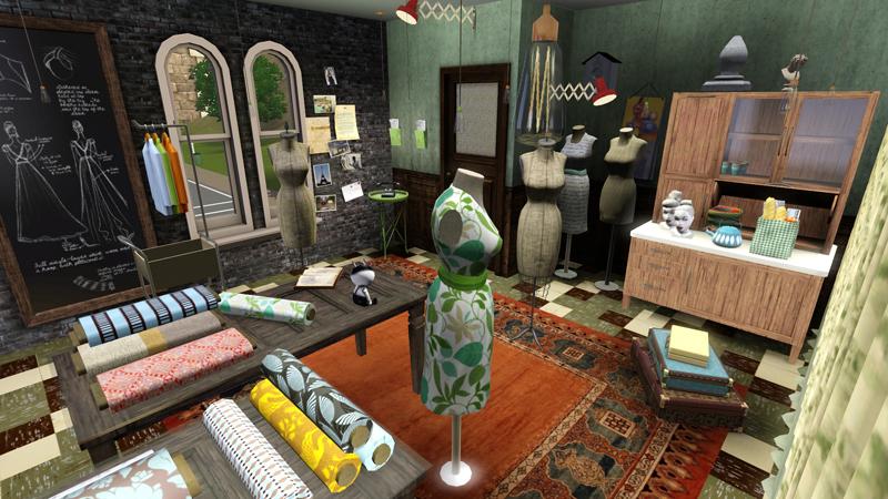 b5studio green room. Black Bedroom Furniture Sets. Home Design Ideas