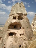 Casas escavadas na rocha