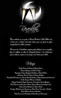 Convite do Reveillon