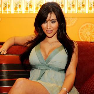 Kim Kardashian Sexy Bongo Model