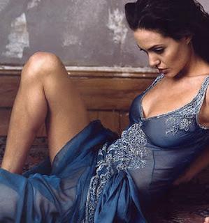 Sexy Angelina Jolie Gives Birth