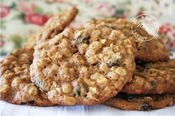 Oatmeal Raisin Cookies Cake Mix Recipe