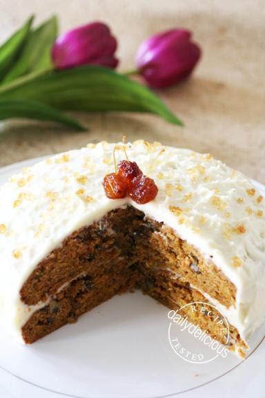 Carrot Cake Ice Cream Cake