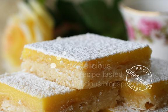 Inch Square Lemon Cake Recipe