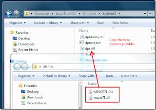 MSVCP71.DLL WINDOWS 7 GRATUIT