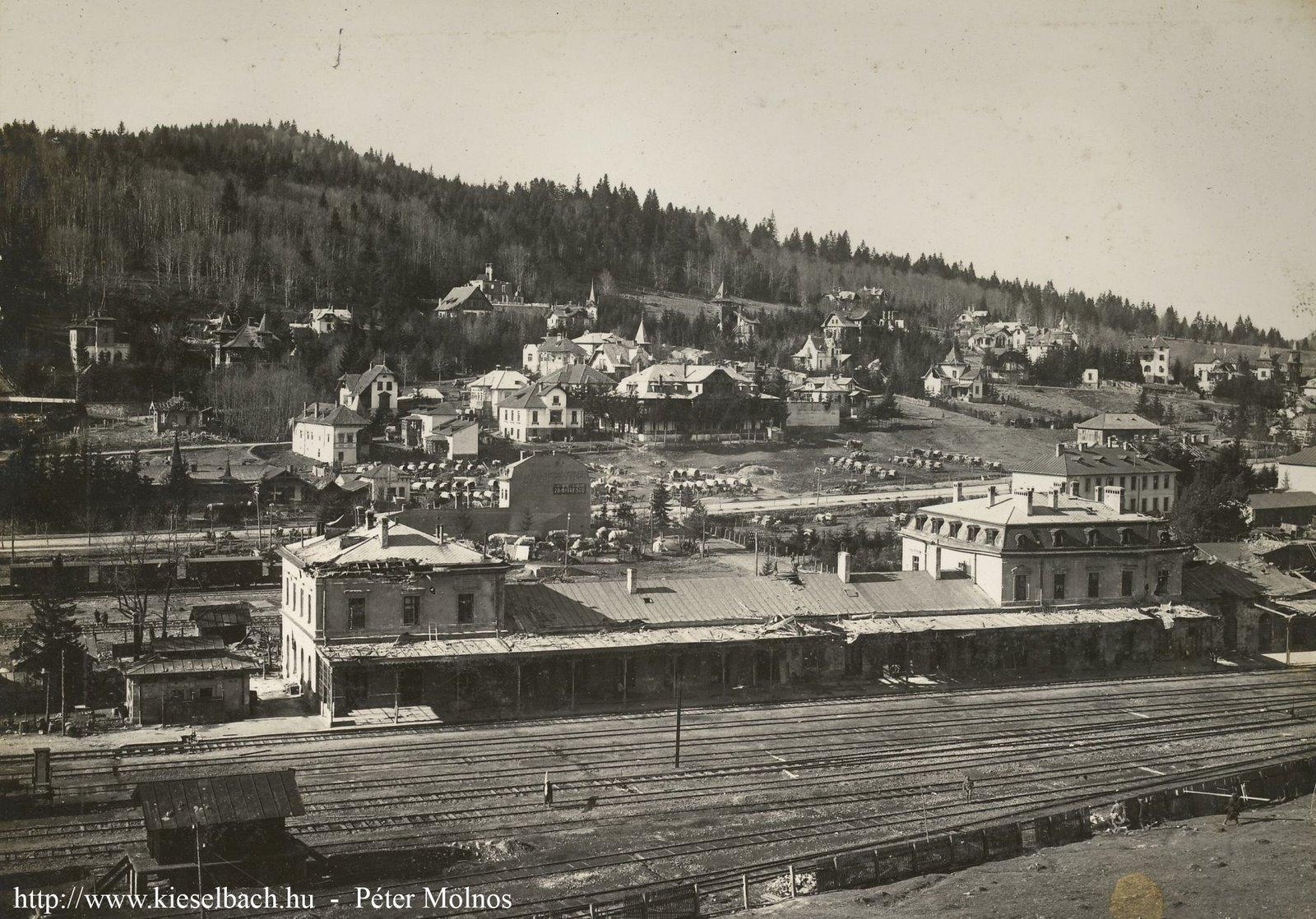 Imagini pentru Predeal - gara înainte de 1916