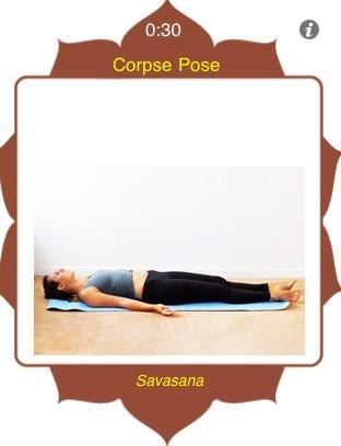yoga much corpse pose  savasana