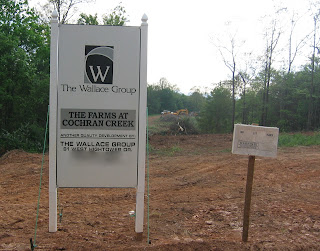 New subdivision, May 2007