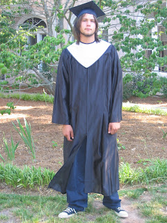 Cap and Gown shot