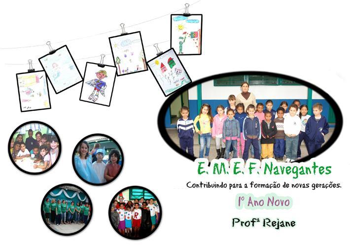 1º Ano Novo - Professora Rejane