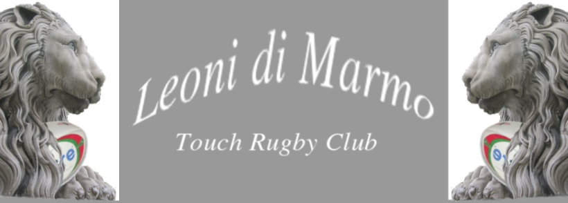 Leoni di Marmo Touch Rugby