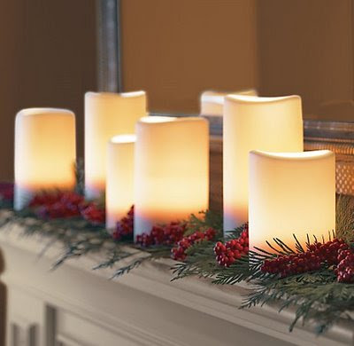 Easy simple christmas decorating modern interior design - Modern christmas mantel ideas ...