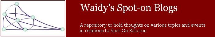 Waidy's Spot-On Blogs
