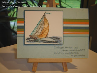 Stampin Up and Seaworthy and masculine card