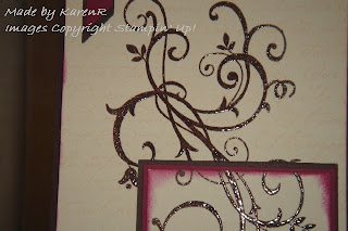 Stampin Up and Baroque Motifs