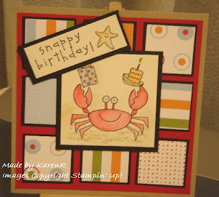 Stampin Up and Crab and Co