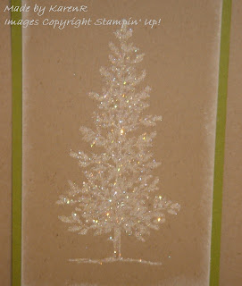 Stampin Up and Lovely As a Tree