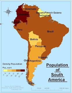 Maps Of South America Maps   South America