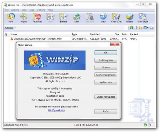 Winzip 14.5