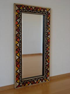Ojo cn los marcos marcos para espejos Marcos para espejos artesanales