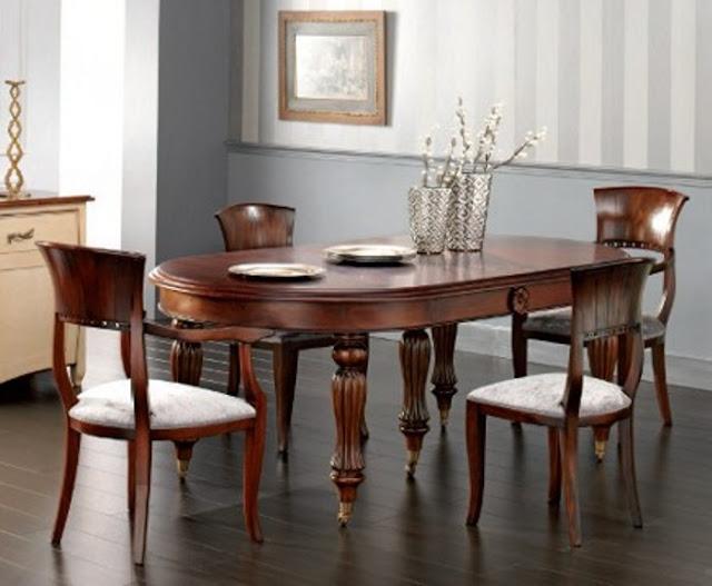 El blog de demarques mesas de comedor clasicas for Modelos de sillas clasicas