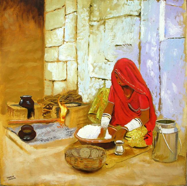 "Artists Of India: ""Kitchen"""