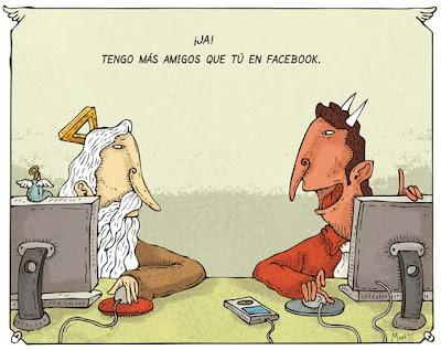 Lo que pasa que las redes sociales son satánicas. Todos saben eso!