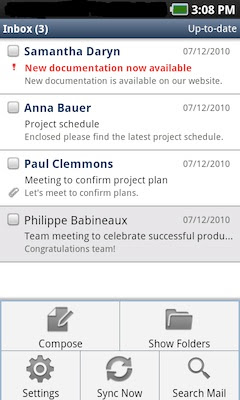 Ibm Lotus Notes Traveler For Android App Now Available