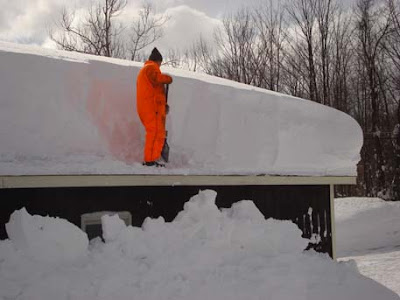 Global Warming 12 Feet Of Snow Hits Watertown Ny Dbkp
