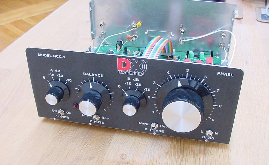 PA5MW: Receiving Phasing System / Noise Cancelling Controller