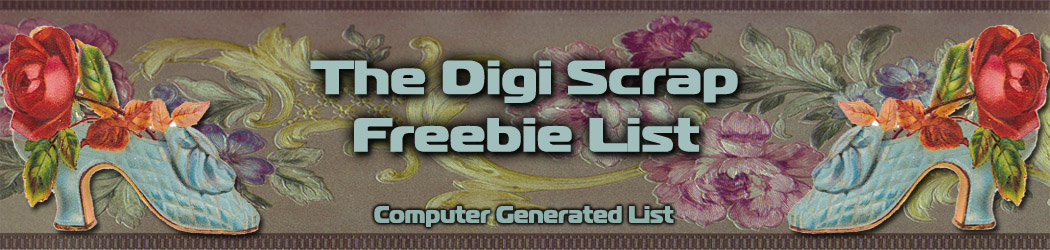 Digi Scrap Freebies List