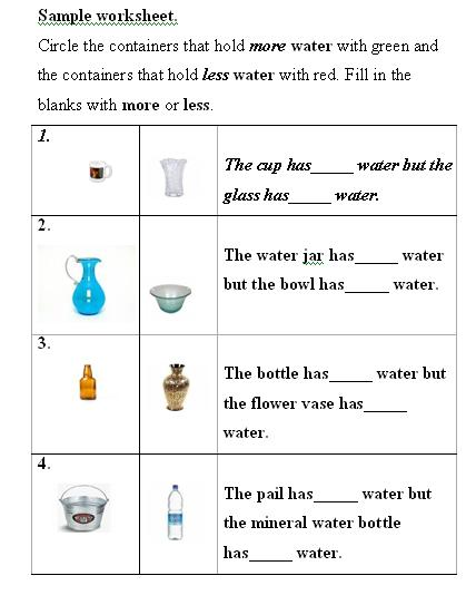 Water Volume Measurement: Liquid Volume Measurement
