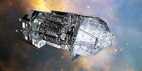 Herschel SpaceTelescope artist opt600x303 - El motor de materia oscura una forma de explorar el espacio