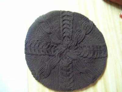 Buttercup Beret Knitting Pattern : Civil Bitch: FO-KKs Beret