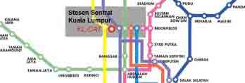 KL Sentral Malaysia Transport Hub Guide
