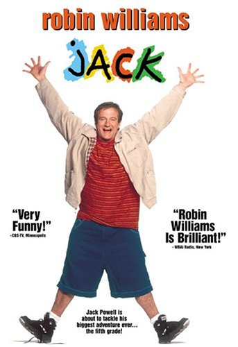 what is the movie jack about with robin williams