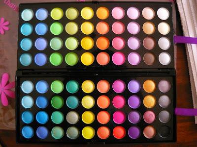 bright eyeshadow looks. BRIGHT eyeshadow palette