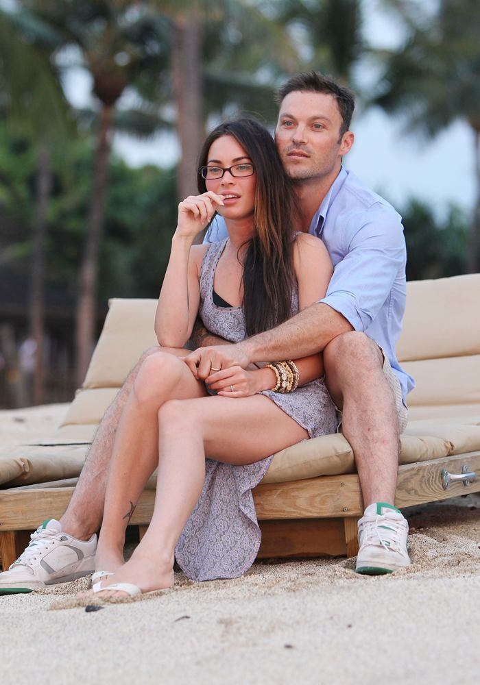 Georgette S Blog The Hawaiian Wedding Of Megan Fox And
