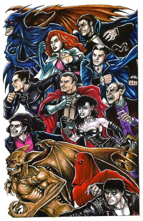Marvel-DC: Vampire War! | ALTERNATURAL ART