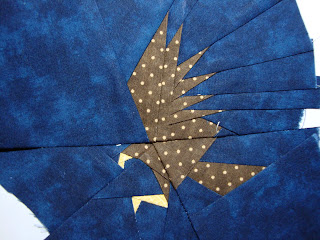 Bee Happy Harry Potter Paper Pieced Quilt