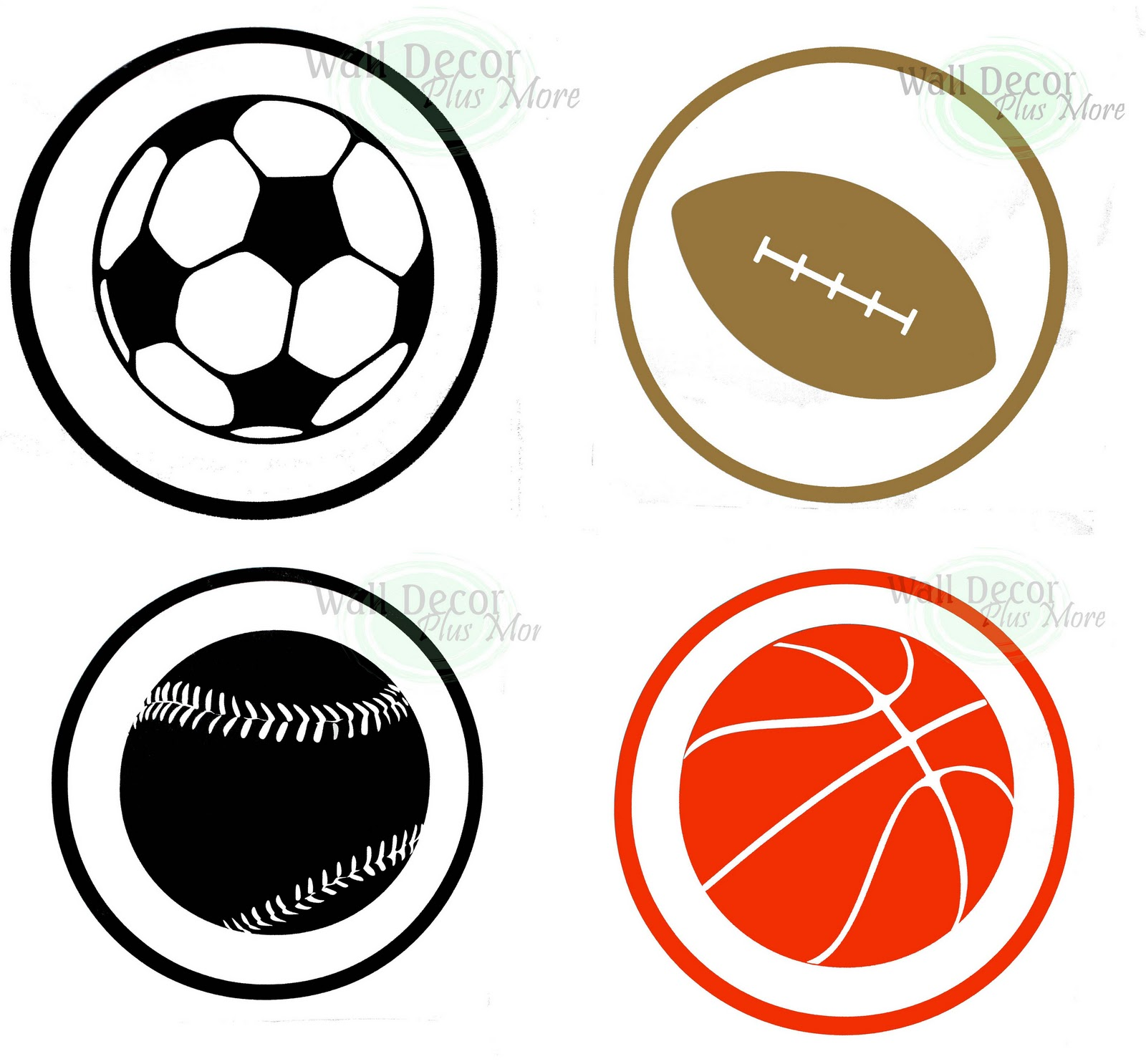 Decorating With Wall Vinyl Boy S Room Wall Decor Sports