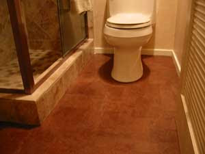 amazing cork bathroom flooring ideas | Green Building Products: You can use a cork floor for your ...